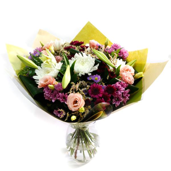 זר פרחים – תודה, מזל טוב